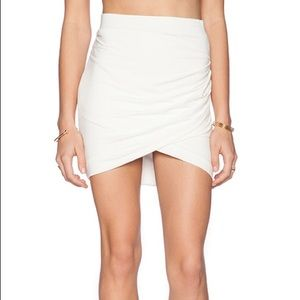 Lovers + Friends Voyage Skirt In White